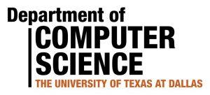 Department of Computer Science, UT Dallas